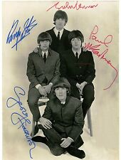 The Beatles Vintage Signed 8X10 Photo Autographed