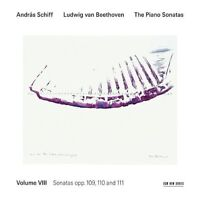ANDRAS SCHIFF - SÄMTLICHE KLAVIERSONATEN VOL.8  CD NEU LUDWIG VAN BEETHOVEN /+