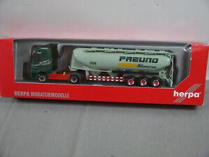 Herpa DAF Cf 85 Sz Freund Silo Specialized Shipping Model Car 1:87 (K47) S9