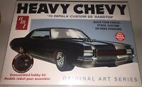 AMT 1970 Chevy Impala Heavy Chevy 1/25 scale model car kit new 895