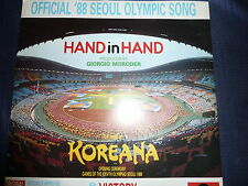 Maxisingel Hand In Hand von Koreana Olympia 1988