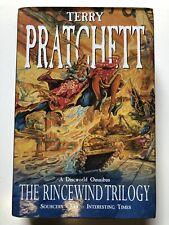 Terry Pratchett - Discworld Omnibus - The Rincewind Trilogy - Hardback Book
