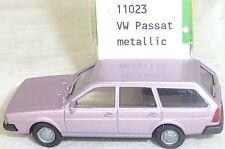 VW PASSAT année 1981 ROSE VIEUX métallique IMU modèle européen 11023 H0 1:87