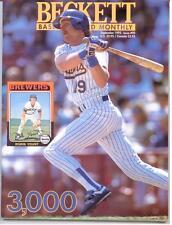 Robin Yount-Beckett Baseball Price Guide-September 1992-John Kruk on Back