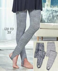 Printed Stirrup Pants -
