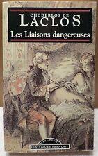 Les Liaisons Dangereuses by Pierre Chordelos de Laclos French Paperback