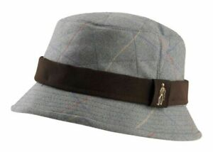 Jack Murphy Unisex Pintail Quilted Tweed Bush Hat