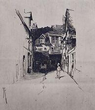 Remorsure par Richard Toovey (1861-1927). La Cour, Dieppe, France.