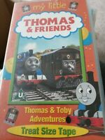 MY LITTLE THOMAS AND (&) FRIENDS - THOMAS & TOBY ADVENTURES - VHS VIDEO