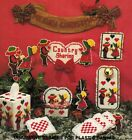 Plastic Canvas Sunbonnet Girl Boy Country Xmas Tissue Cover Coasters Patterns