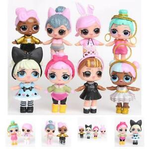 8pcs/Kit L.O.L Surprise LOL dolls Ball Lil Sisters Puppen Pets Spielzeug Mädchen