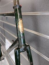 "Vintage Royal Enfield ""All-Welded"" Steel Bicycle Frame, Forks, Head-clip 1949-51"