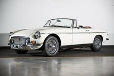 1969 MGB Roadster Convertible Classic Car in White, 1798cc An Immaculate Example
