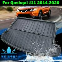 Tailored Heavy Duty Car Mat Boot Liner For Nissan Qashqai 14-19 Protector Tray