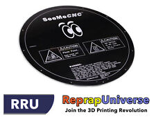 ONYX (rev6) Ø 310 mm Round Heated PCB Bed for Delta / Rostock Reprap 3D Printers