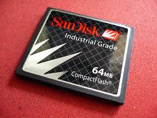 SanDisk 64mb CF Compact Flash for older CF slot machine , CNC machine , control