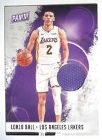 2018 PANINI NATIONAL CONVENTION BASKETBALL LONZO BALL  RELIC  LAKERS