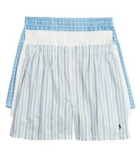 Polo Ralph Lauren Classic Fit 3 Packaged Woven Boxers Men's Size S 2306