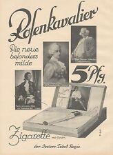 J1090 Zigarette ROSENKAVALIER - Pubblicità grande formato - 1927 Old advertising