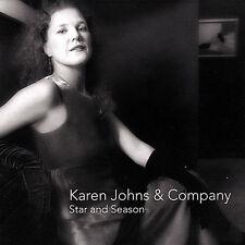 KAREN JONES & COMPANY - STAR AND SEASON - 11 TRACK MUSIC CD - BRAND NEW - E570