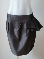 Cue Above Knee Polyester Mini Skirts for Women