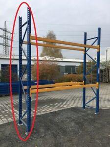 2 x Ständer Rahmen Höhe 4,50 m Palettenregal Schwerlastregal Jungheinrich Stütze