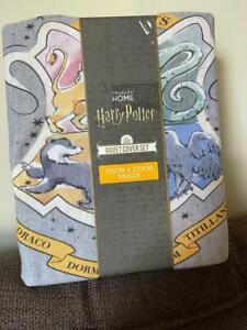 Harry Potter HOGWARTS Soft Jersey Reversible Duvet Set BNWT Primark