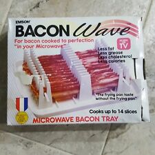 NEW IN BOX Emson Bacon Wave Microwave Bacon Cooker