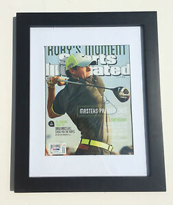 PSA/DNA 2014 British Open Champion RORY MCILROY Signed Sports Illustrated Mag