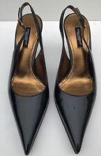 Dolce and Gabanna women signature slingback pointed toe size US 6.5/ EU37-/UK4.5