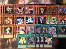 Yugioh LV Level Deck 40 Card Horus Armed Dragon Mystic Silent Swordsman Magician