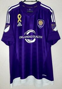 MLS Orlando City adidas 2013 Ricardo Kaka' Home Soccer Jersey