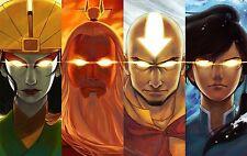 """Avatar The Legend of Korra Poster anime Art Silk Wall huge Poster 12x18"""" AVT6"""