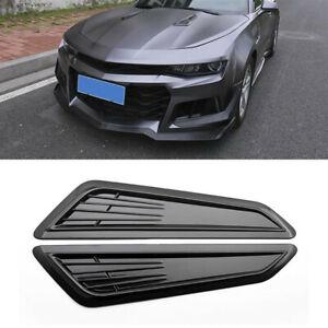 Air Flow Intake Hood Decorative Scoop Vent Bonnet Cover Fit For Universal Car