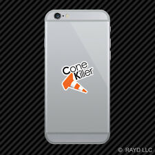 Cone Killer Cell Phone Sticker Mobile Die Cut drifting jdm time attack