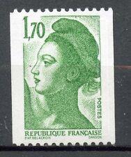 TIMBRE FRANCE NEUF N° 2321 ** GANDON LIBERTE ROULETTE