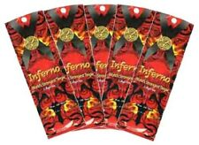 5 Packets of Inferno worlds strongest tingle Tanning Lotion by Ultimate