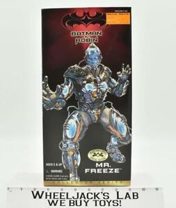 "Mr. Freeze Batman & Robin Collector Series MISB 1997 12"" Kenner Action Figure"
