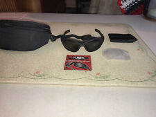WILEY XL1 SUNGLASSES Two Lens System~smoke/clear~made In USA~ NWT
