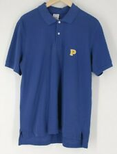 Brooks Brothers Men's Large L Blue Performance Polo slim fit with gold P emblem