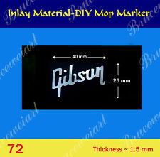 Gibson Replacement Part - DIY White MOP Inlay Markers (G-72)