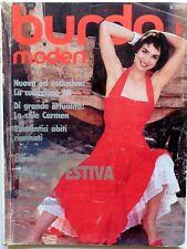 RIVISTA MAGAZINE BURDA MODEN 5 MAI 1985 CARTAMODELLI + ALLEGATO ITALIANO