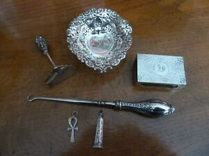 Job Lot of Solid Silver - 73grams - 6 Pieces