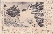 I 29-RAR lito tukettpass, imperatore Francesco Giuseppe punta, brentagruppe, 1900 GLF.