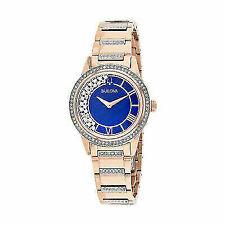 Bulova Crystal TurnStyle 98L247 Wrist Watch for Women