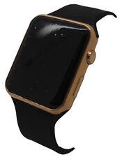 Citron Men's Youth  LCD  Fashion Digital Display Black Silicone Strap  Watch