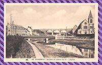CPA - 62 - WIMEREUX - Le Pont du chemin de fer - L'eglise