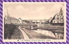 CPA - 62 - WIMEREUX - El Puente del camino de hierro - La iglesia