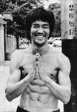 Stampa incorniciata-Bruce Lee BLACK & WHITE (Arti Marziali FOTO POSTER MMA Lotta)