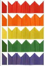 100 Cracker Chapeaux - Assortiment de couleurs - Noël papier tissu